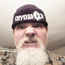 Lars sporting a Cryoshock Beanie